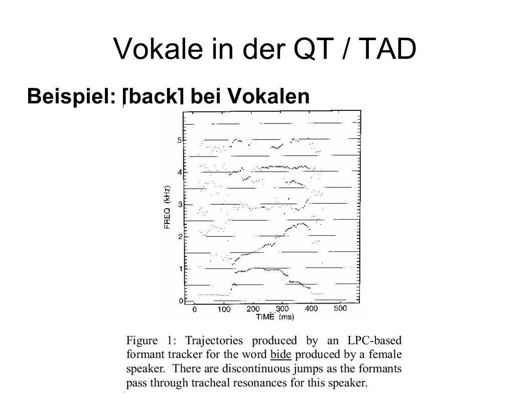 Beispiel: [back] bei Vokalen